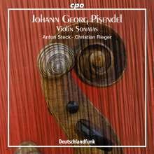 Johann Georg Pisendel (1687-1755): 5 Violinsonaten, CD