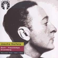Jascha Heifetz spielt Violinkonzerte, CD