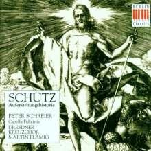 Heinrich Schütz (1585-1672): Historia der Auferstehung Christi SWV 50, CD