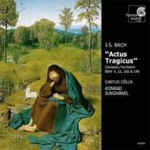 Johann Sebastian Bach (1685-1750): Kantaten BWV 4,12,106,196, CD