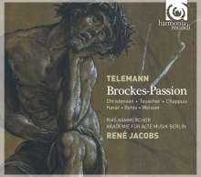 Georg Philipp Telemann (1681-1767): Brockes Passion (1719), 2 CDs
