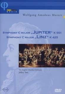Wolfgang Amadeus Mozart (1756-1791): Symphonien Nr.36 & 41, DVD