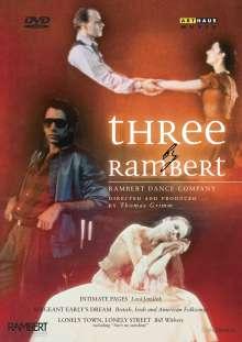 Rambert Dance Company - Three by Rambert, DVD