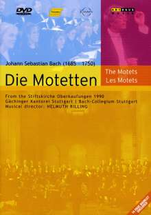 Johann Sebastian Bach (1685-1750): Motetten BWV 118,225-230,Anh.159 & 160,BWV deest, DVD