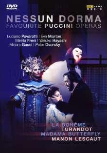 Nessun Dorma - Favourite Puccini Operas (Gesamtaufnahmen), 4 DVDs