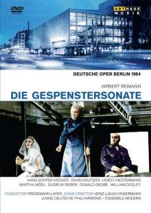 Aribert Reimann (geb. 1936): Die Gespenstersonate, DVD