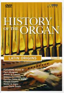 History of the Organ Vol.1 - Latin Origins, DVD