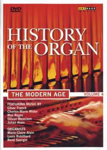 History of the Organ Vol.4 - The Modern Age, DVD