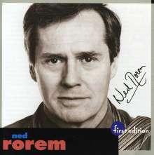 Ned Rorem (geb. 1923): Klavierkonzert in 6 Sätzen, CD