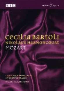 Cecilia Bartoli & Nicolaus Harnoncourt - Mozart, DVD