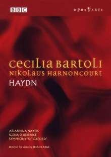 Cecilia Bartoli & Nicolaus Harnoncourt - Haydn, DVD