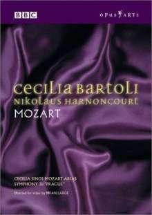 Mozart / Bartoli / Harn: Cecilia Sings Mozart, DVD