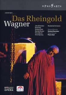 Richard Wagner (1813-1883): Das Rheingold, 2 DVDs
