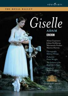 The Royal Ballet:Giselle (Adam), DVD