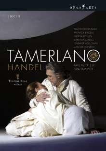 Georg Friedrich Händel (1685-1759): Tamerlano, 3 DVDs