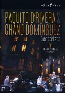 Paquito D'Rivera & Chano Dominguez: Quartier Latin - Live 2006, DVD