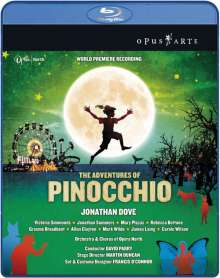 Jonathan Dove (geb. 1959): The Adventures of Pinocchio, Blu-ray Disc