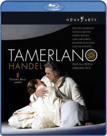 Georg Friedrich Händel (1685-1759): Tamerlano, 2 Blu-ray Discs