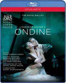 Royal Ballet Covent Garden:Ondine (Henze), Blu-ray Disc