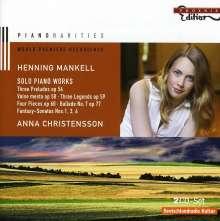 Henning Mankell (1868-1930): Klavierwerke, 2 CDs