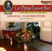 Carl Philipp Emanuel Bach (1714-1788): Carl Philipp Emanuel Bach Edition - Sonatas/Clavierstücke, CD