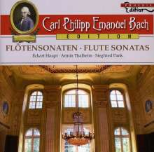 Carl Philipp Emanuel Bach (1714-1788): Carl Philipp Emanuel Bach Edition - Flötensonaten, CD