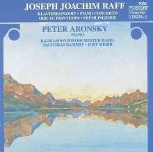 Joachim Raff (1822-1882): Klavierkonzert op.185, CD