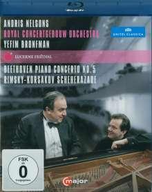 Ludwig van Beethoven (1770-1827): Klavierkonzert Nr.5, Blu-ray Disc