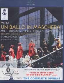Giuseppe Verdi (1813-1901): Tutto Verdi Vol.21: Un Ballo In Maschera (Blu-ray), Blu-ray Disc