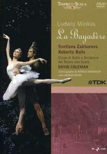Ballett der Mailänder Scala:La Bayadere (Charles Minkus), DVD