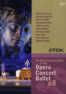 "TDK DVD-Video-Sampler ""Opera Concert Ballet 08"", DVD"