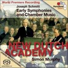 Joseph Schmitt (1734-1791): Frühe Symphonien & Kammermusik, SACD