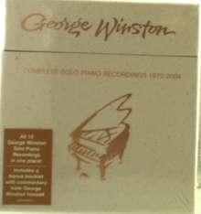 George Winston: Complete Solo Piano Recordings 1972-2004, 10 CDs