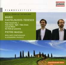 Mario Castelnuovo-Tedesco (1895-1968): Klavierkonzert Nr.2, CD