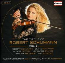 Gudrun Schaumann - The Circle of Robert Schumann Vol.2, 2 CDs
