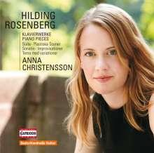 Hilding Rosenberg (1892-1985): Klavierwerke, CD