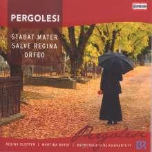 Giovanni Battista Pergolesi (1710-1736): Stabat Mater für Sopran,Mezzo,Streicher & Orgel, CD