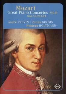 Wolfgang Amadeus Mozart (1756-1791): Die großen Klavierkonzerte Vol.2, DVD