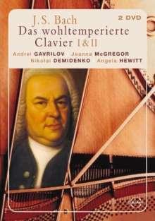 Johann Sebastian Bach (1685-1750): Das Wohltemperierte Klavier 1 & 2, 2 DVDs