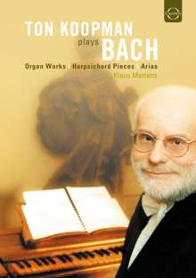 Ton Koopman plays Bach, DVD