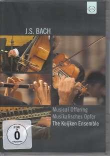 Johann Sebastian Bach (1685-1750): Ein Musikalisches Opfer BWV 1079, DVD