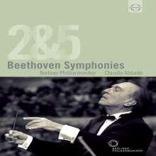 Ludwig van Beethoven (1770-1827): Symphonien Nr.2 & 5, DVD
