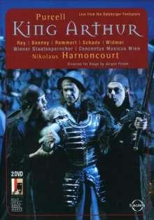 Purcell / Bonney / Remm: King Arthur (2pc), 2 DVDs