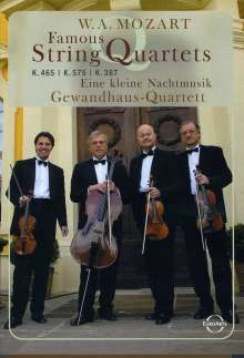 Wolfgang Amadeus Mozart (1756-1791): Streichquartette Nr.14,19,21, DVD