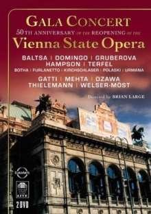 Galakonzert aus der Wiener Staatsoper, 2 DVDs