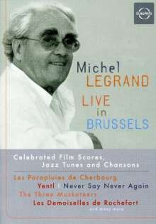 Michel Legrand (geb. 1932): Live In Brussels 2005, DVD