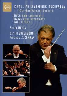 Israel Philharmonic Orchestra - 70th Anniversary Concert, DVD