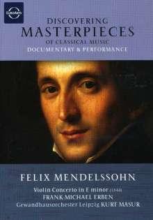 Discovering Masterpieces - Felix Mendelssohn, DVD