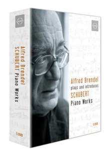 Alfred Brendel plays & introduces Schubert Piano Works, 5 DVDs