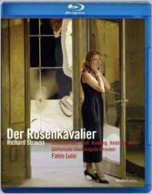Richard Strauss (1864-1949): Der Rosenkavalier (Blu-ray), 2 Blu-ray Discs